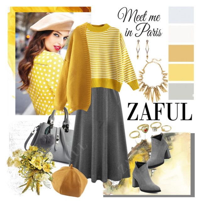 """Z A F U L"" by carola-corana ❤ liked on Polyvore featuring Wall Pops! and zaful"