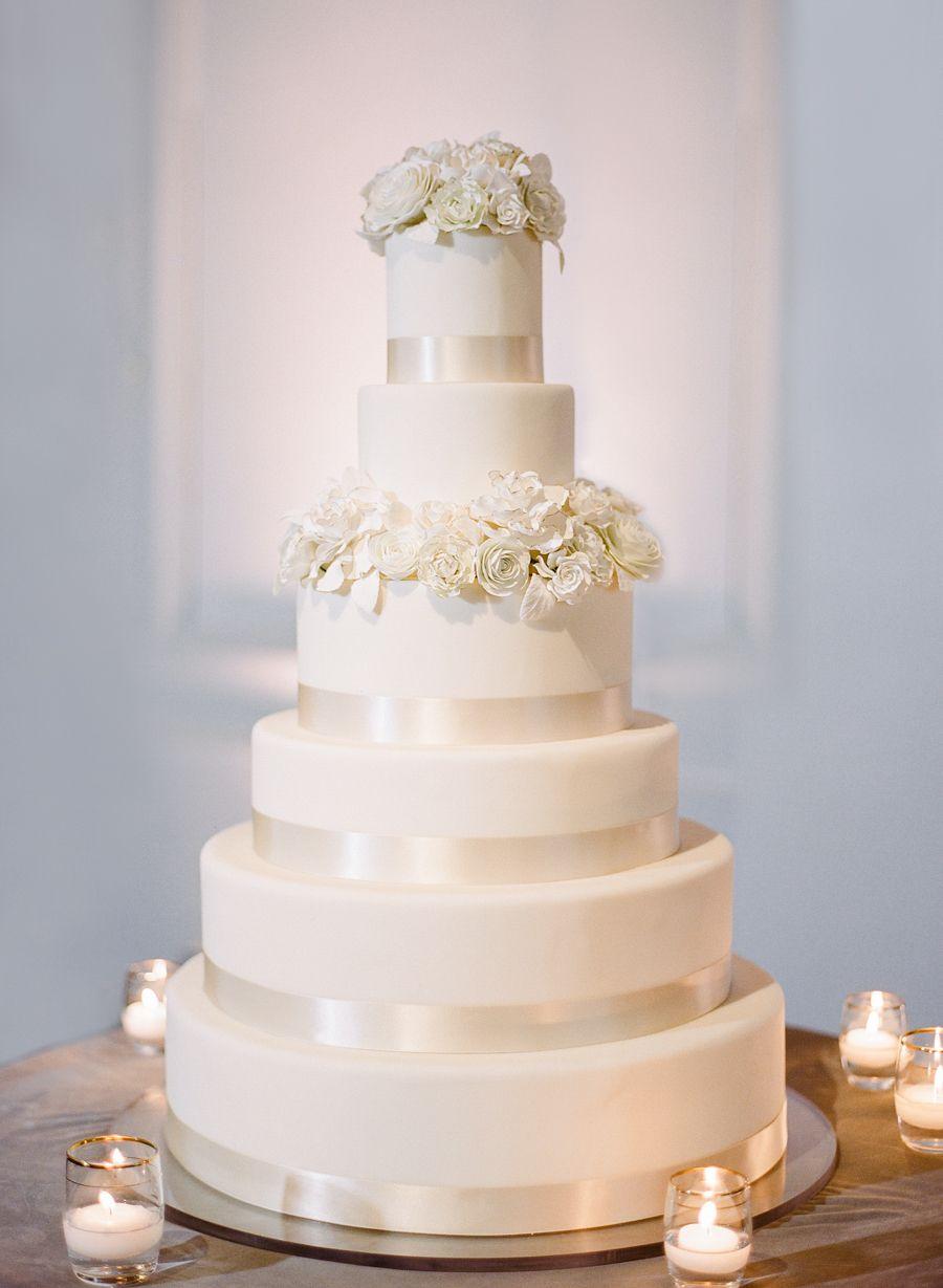 A Glamorous Ballroom Wedding With a Serious Sweet Tooth | White ...