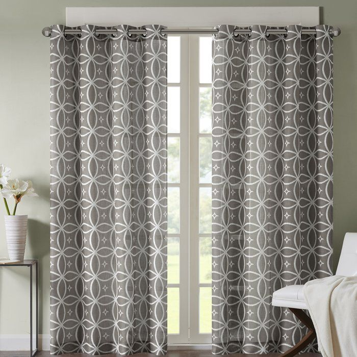Make A Statement With Their Fret Printed Panel An All