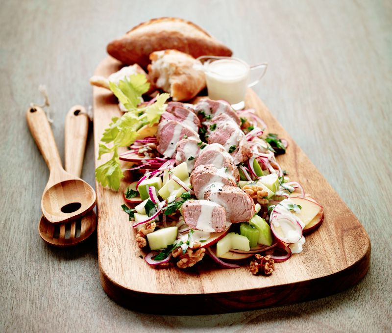 Lean pork recipes for a light and healthy summer.
