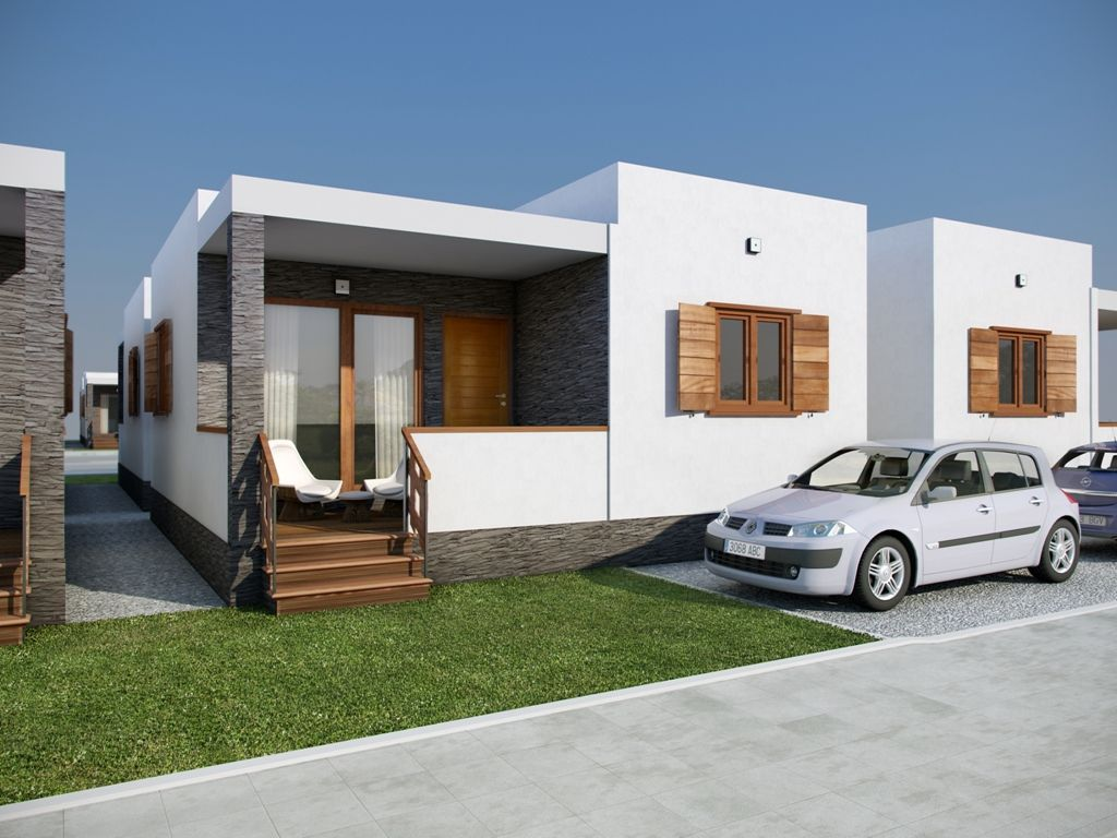 Casa prefabricada expo | Casas prefabricadas de madera | Pinterest ...