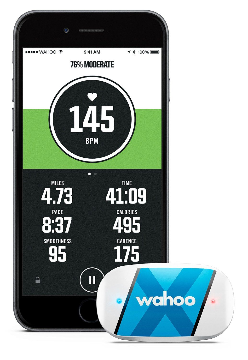 Wahoo TICKR X Workout Tracker with Heart Rate and Memory