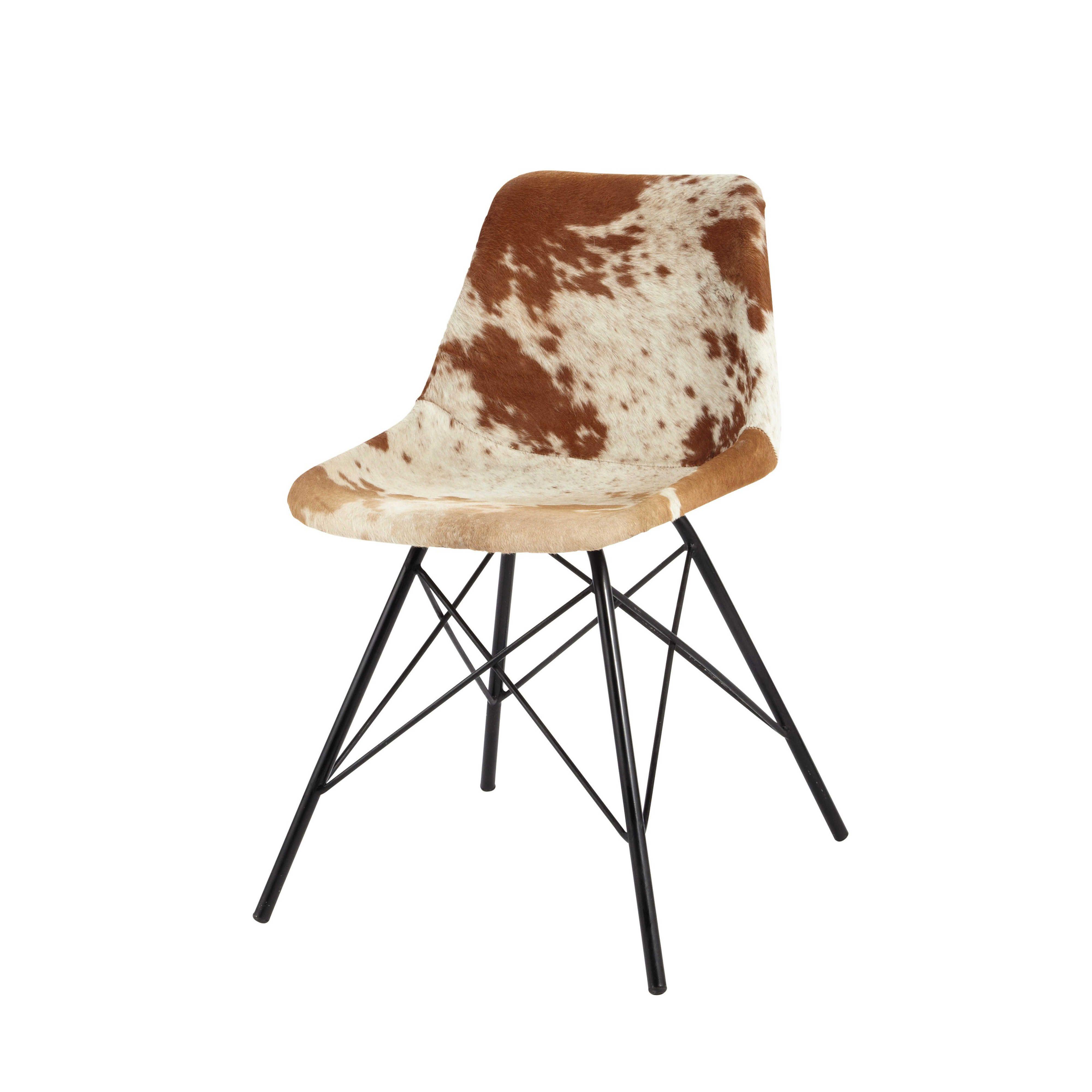 Sedie Metallo E Cuoio.Sedia In Cuoio E Metallo Metal Chairs Rocking Chair Makeover