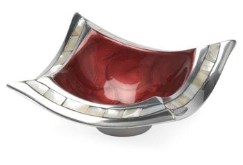 Classic Petite Pagoda Bowl, Pomegranate in April 22 - 2013 from One Kings Lane on shop.CatalogSpree.com, my personal digital mall.
