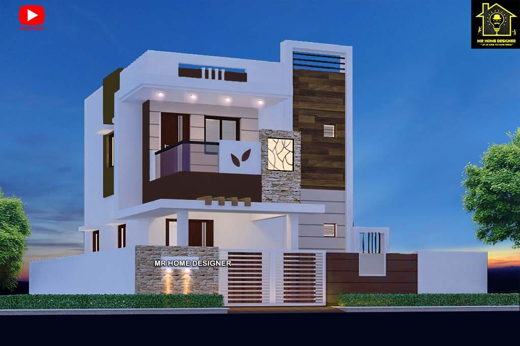 30 2 floor elevation designs in 2020 Small house