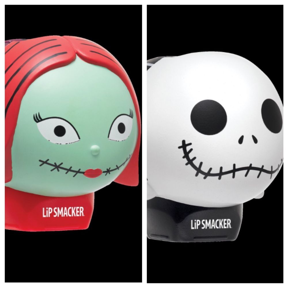 Disney Tsum Tsum Lip Smacker Jack Skellington Sally Nightmare Before ...