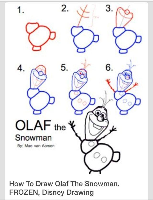 ???? ❤️Cómo dibujar Disneys Olaf❤️ ???? – # ???? ❤️Cómo #Disneys #draw # Olaf❤️ ???? #a
