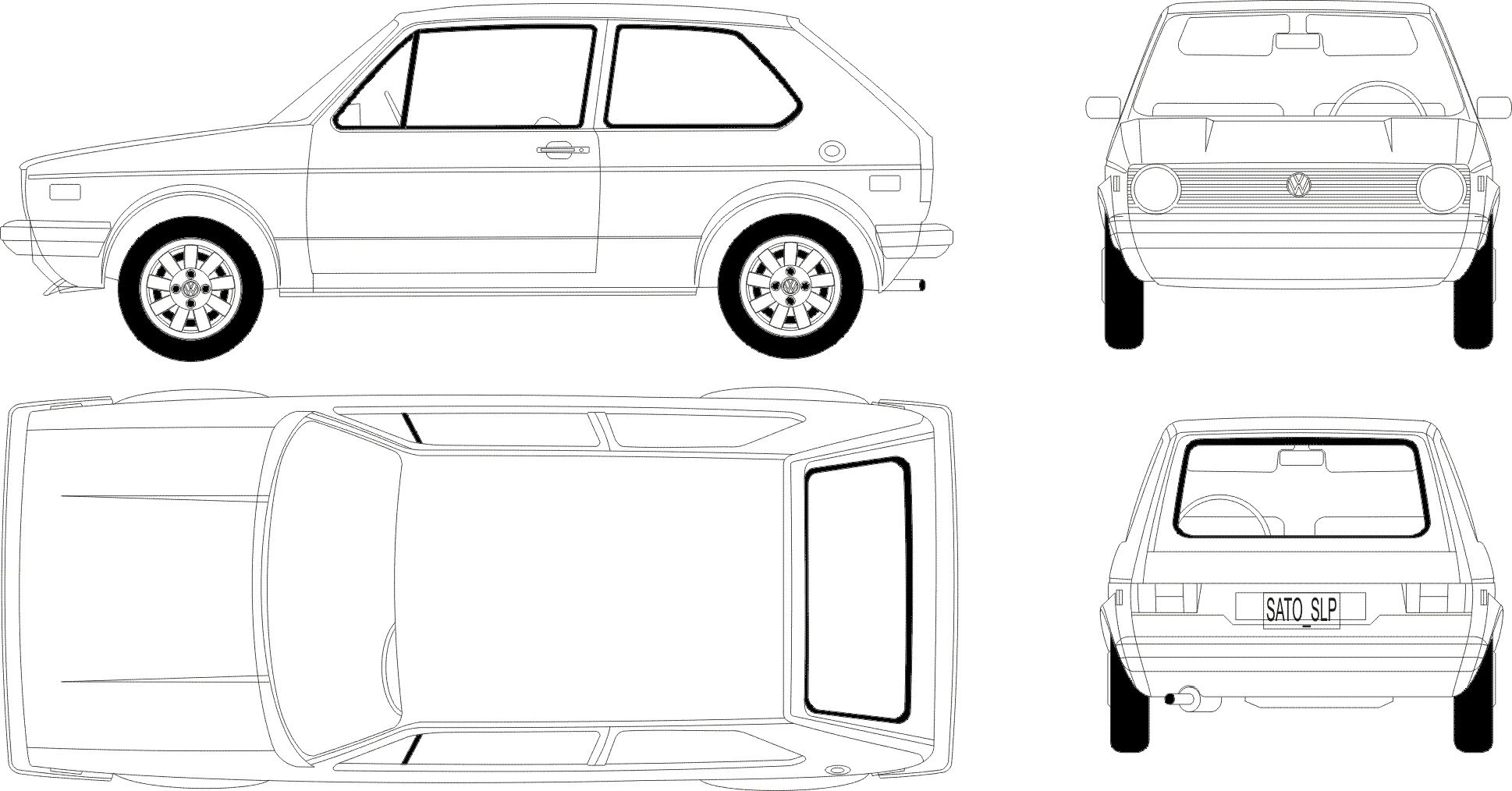 Volkswagen golf 2006 blueprints pinterest volkswagen golf volkswagen golf 2006 blueprints pinterest volkswagen golf and template malvernweather