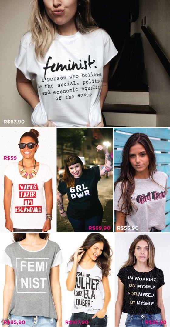 898ae55f3 camisetas-feminismo-t-shirt-onde-comprar | feminismo en 2019 ...