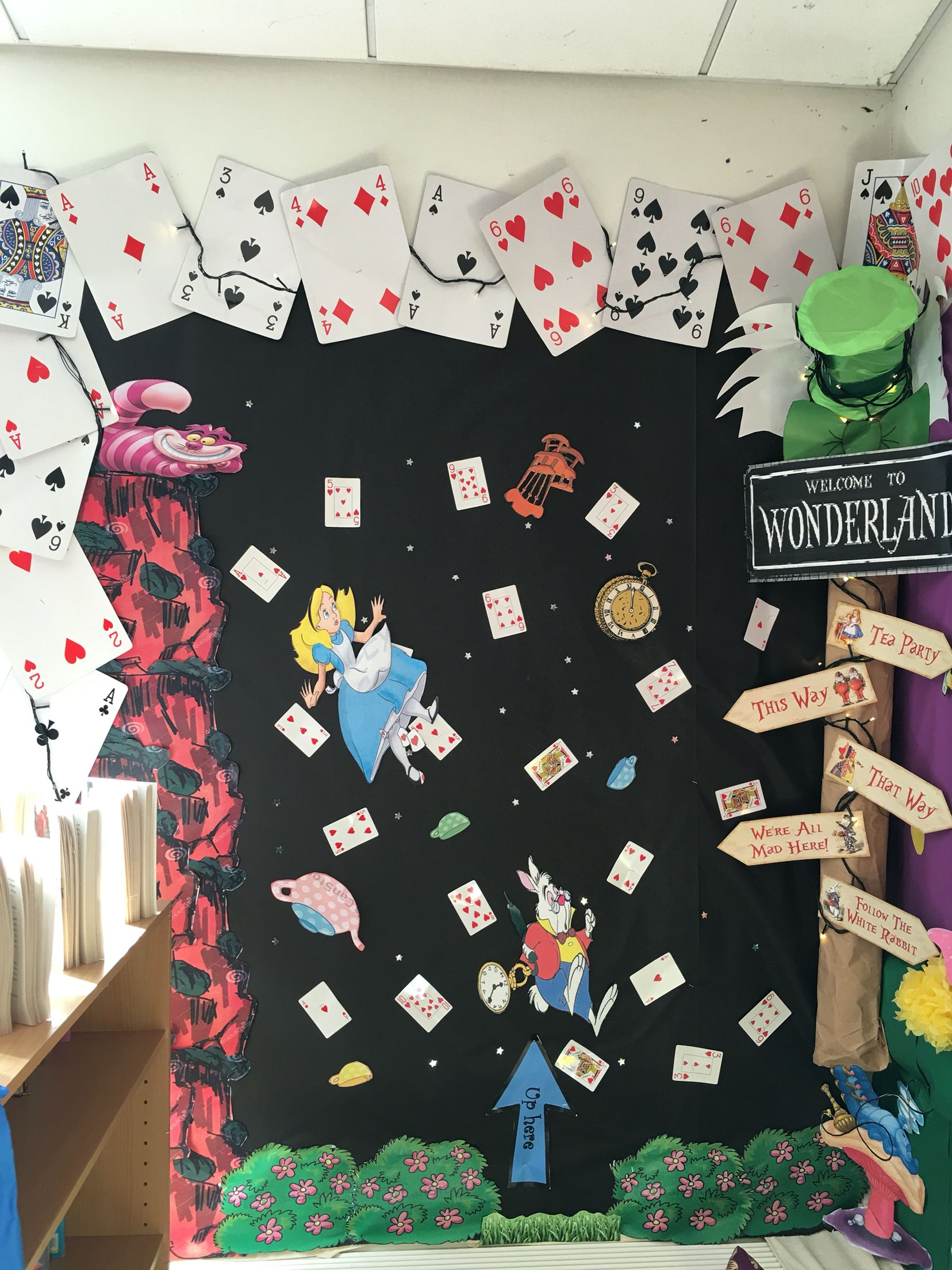 Alice In Wonderland Reading Corner 2017 2018 Alice In