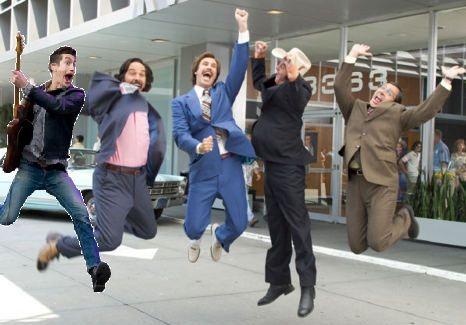 Alex leaps into Achorman. I couldn't help myself.