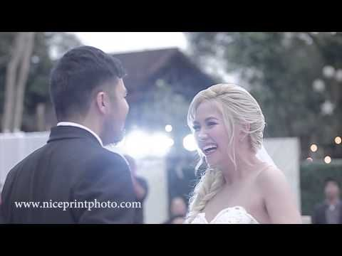 Yeng Constantino Yan Asuncion On Site Wedding Film By Nice Print Photography Wedding Film Celebrity Weddings Film