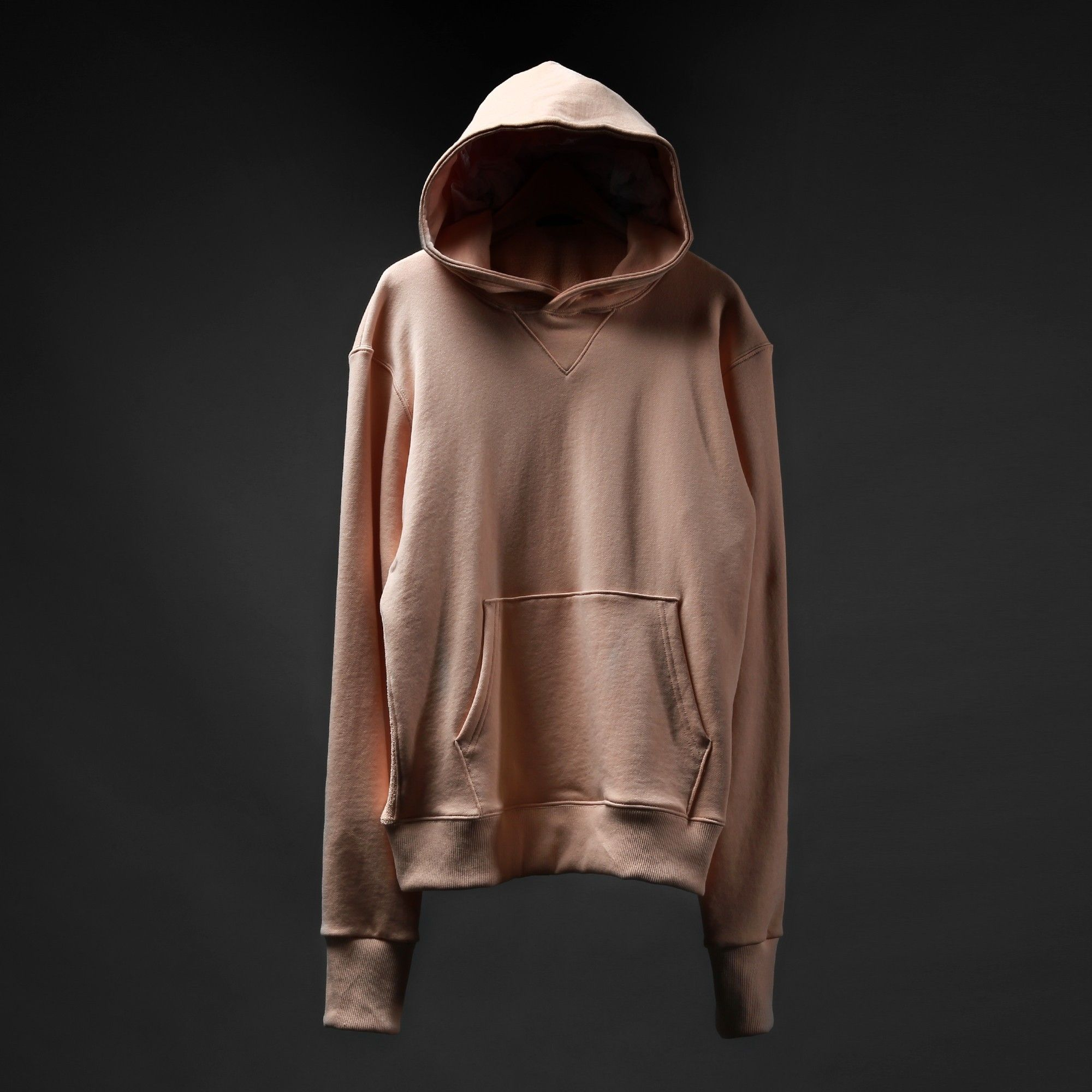 """@Knyew """"Side-Panel Hoodie"""" in Nude 