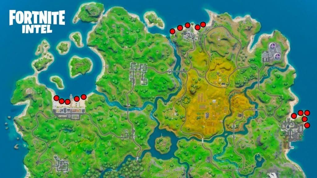 10 Biggest Map Changes In Fortnite Fortnite Fortnight School