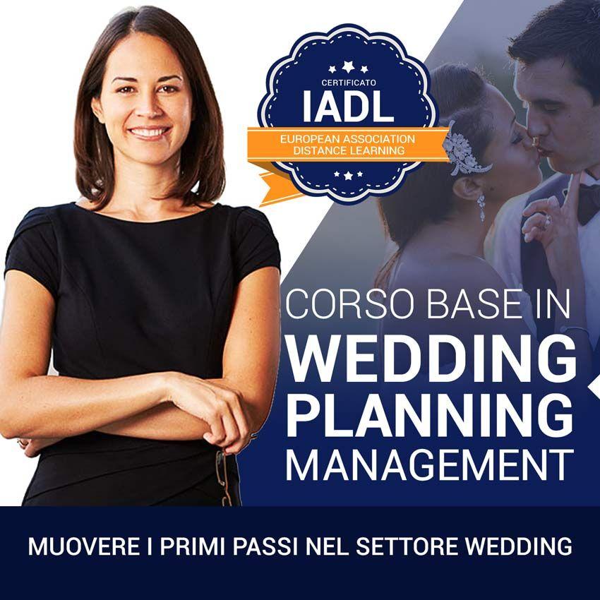 Diventare organizzatrice di matrimoni - Corso Base