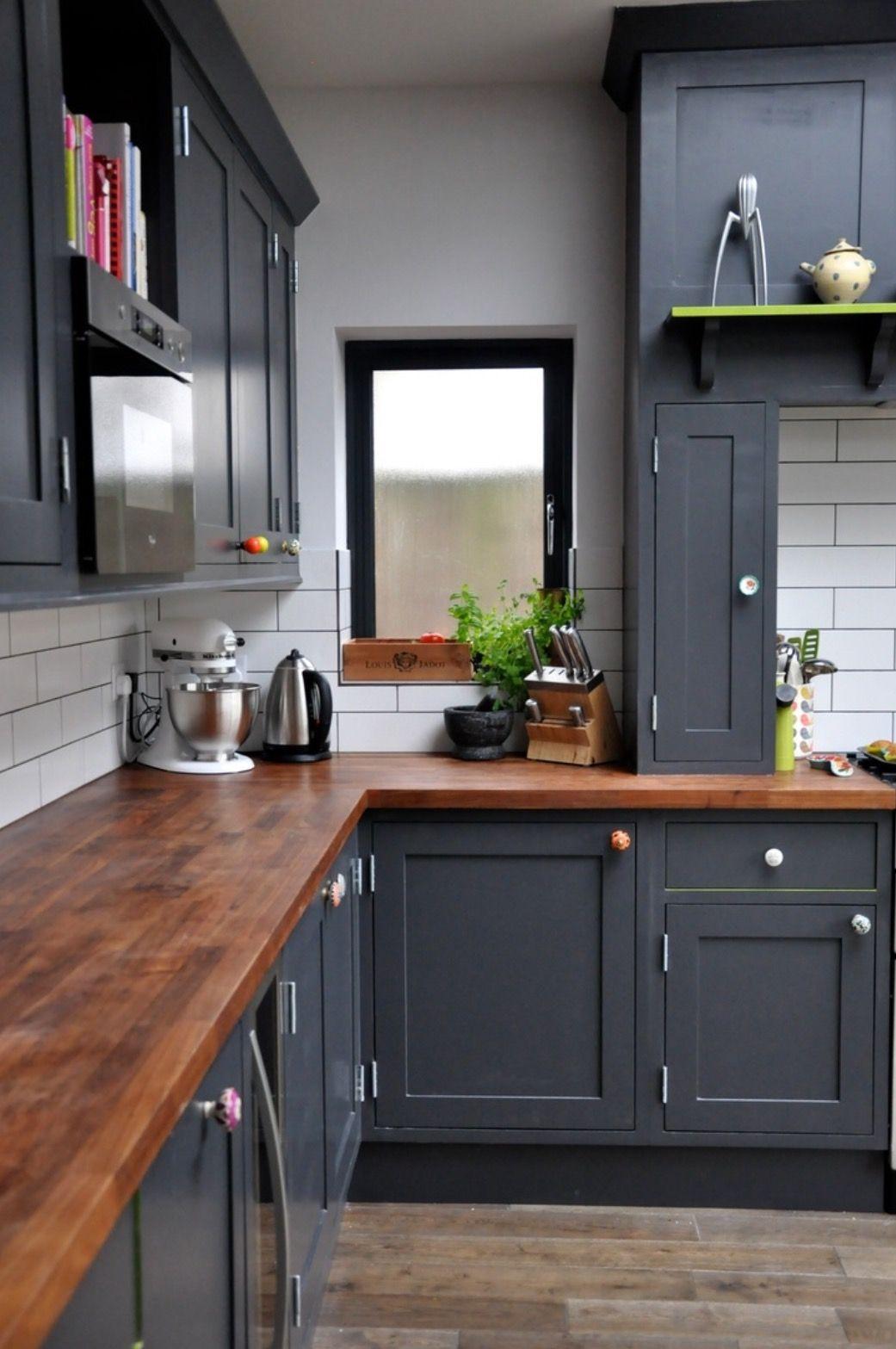 color scheme | galley kitchen | Pinterest