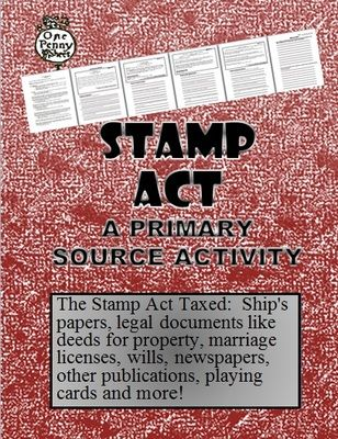 Stamp+Act+Activity+with+Primary+Sources+and+Questions+from+TEACHLEARN+on+TeachersNotebook.com+-++(7+pages)++-+This+lesson+on+the+Stamp+Act+comes+with+four+primary+source+documents+to+read+with+questions.+It+also+comes+with+a+lesson+plan+and+additional+follow+up+questions+on+the+Stamp+Act.