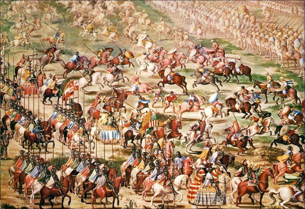 La Batalla de La Higueruela, el día 1 de julio de 1431 (Cuadro de Fabrizio Castello).
