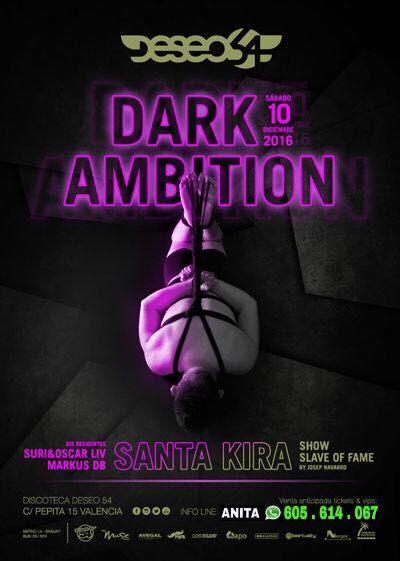 ★ SÁBADO ★: Dark Ambition by Slave of Fame @ Deseo 54