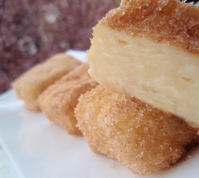 Bocados dulces y salados: LECHE FRITA