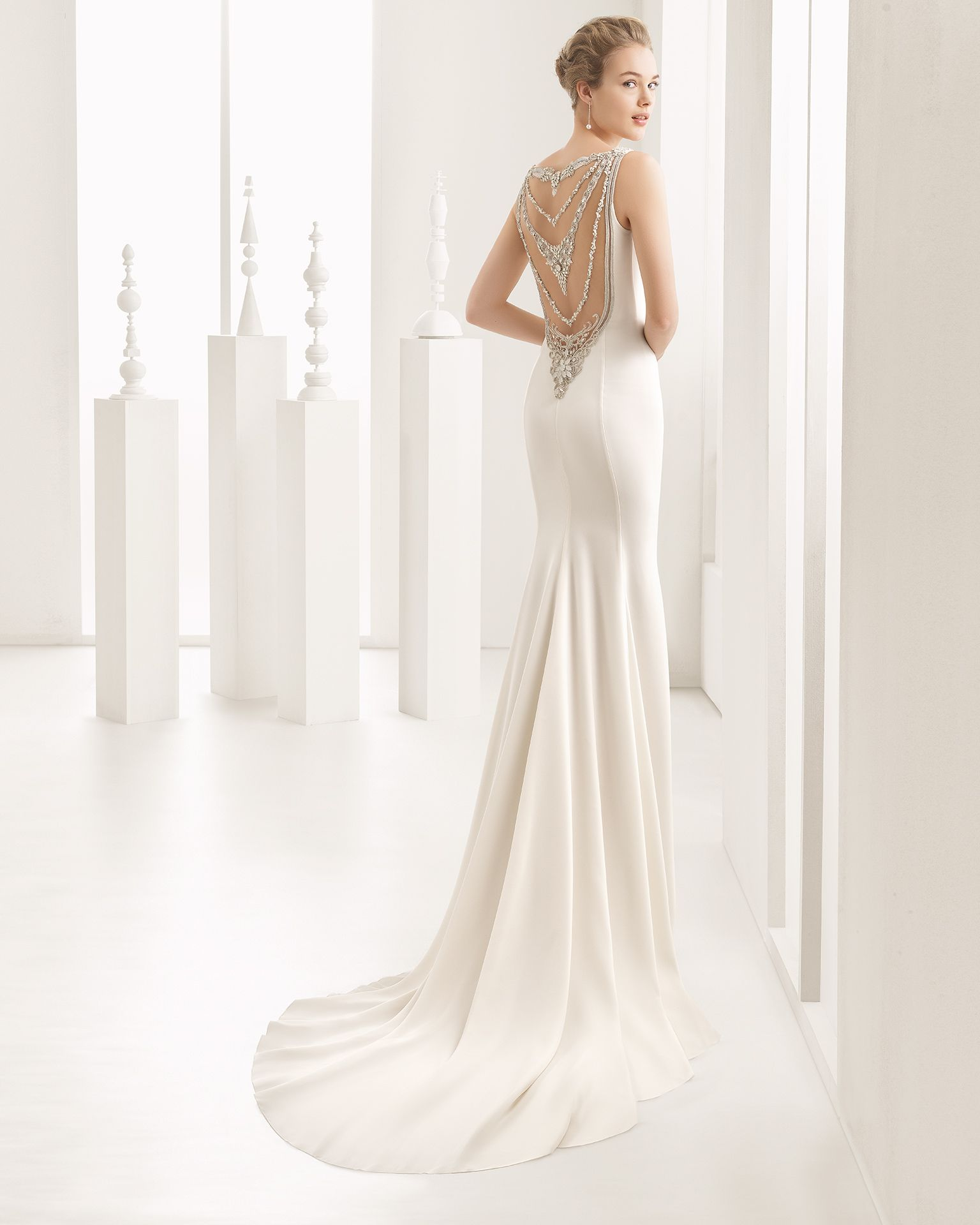 Naisha - 2017 Bridal Collection. Rosa Clará. | Pinterest | Wedding ...