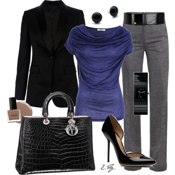 The 25+ best Grey pants outfit ideas on Pinterest | Wear to work Teaching interview outfit and ...