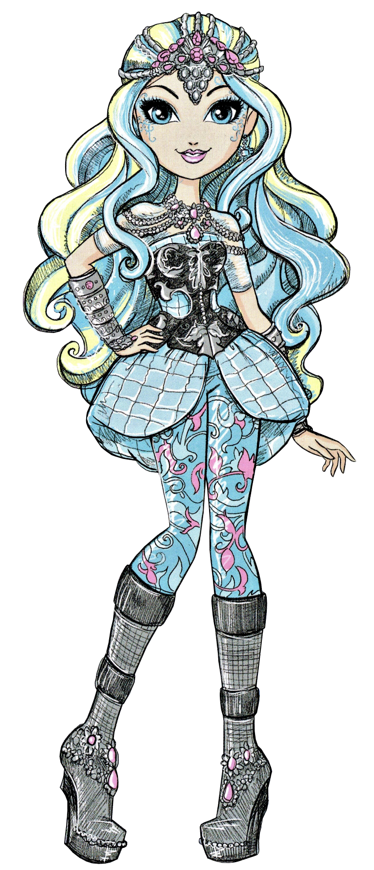 Darling Charming Dragon Games New Book Art Ever After High Dragon Games Monster High Characters