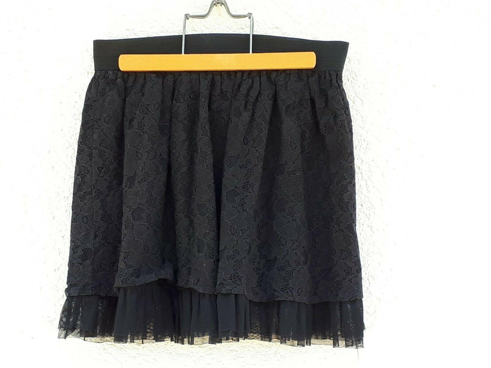jupe noir cache cache taille 38 Jupe idées de Jupe #jupe