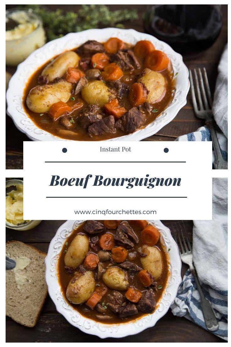 Viande A Bourguignon Que Faire D'autre : viande, bourguignon, faire, d'autre, Boeuf, Bourguignon, Instant, Recipes,