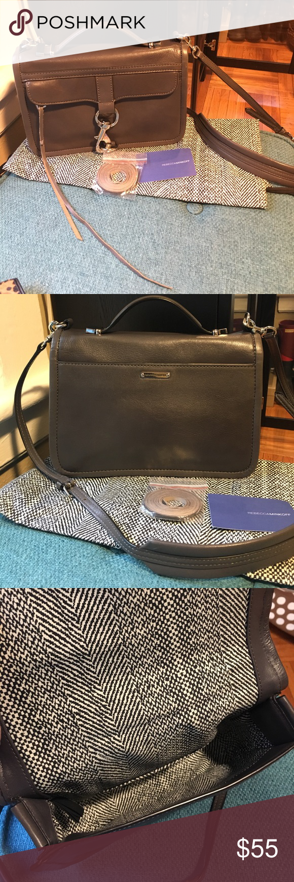 EUC Rebecca Minkoff Bowery Bag Used a handful of times only. Really cute Satchel style crossbody. Strap is detachable. Comes with dustbag and extra replacement tassels. Rebecca Minkoff Bags Crossbody Bags