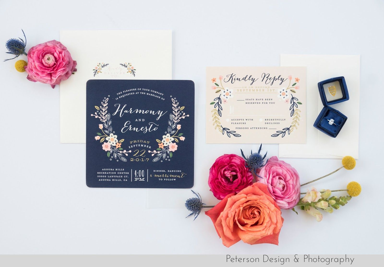 Invitation suite from minted at this colorful laid back and fun invitation suite from minted at this colorful laid back and fun wedding at the agoura solutioingenieria Image collections