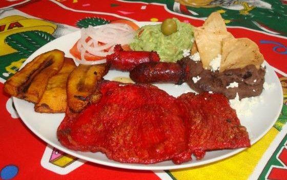 Carne Chinameca Coatzacoalcos Veracruz México Comida Veracruzana Comida Mexicana Comida