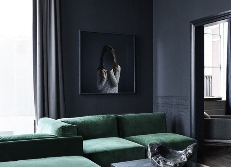 Zwart wit of grijs op de wand  Interior inspiration