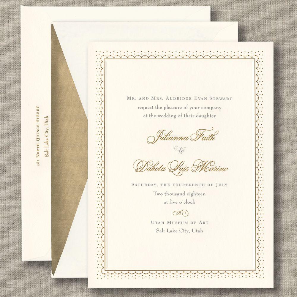 William Arthur Wedding 98 107016 Hr Stokes Wedding Invitations