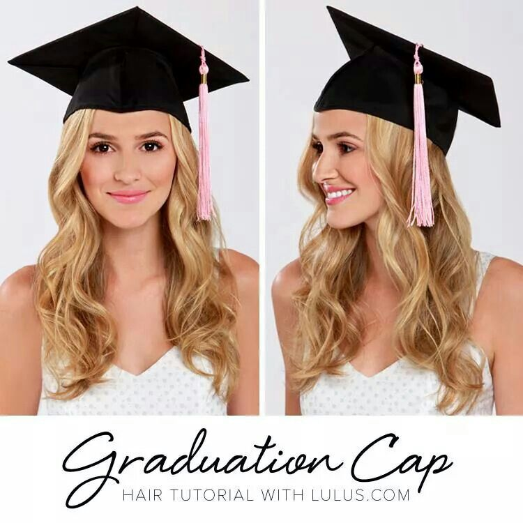 Check Out The 5 Hot Graduation Cap Safe Hairstyles Below