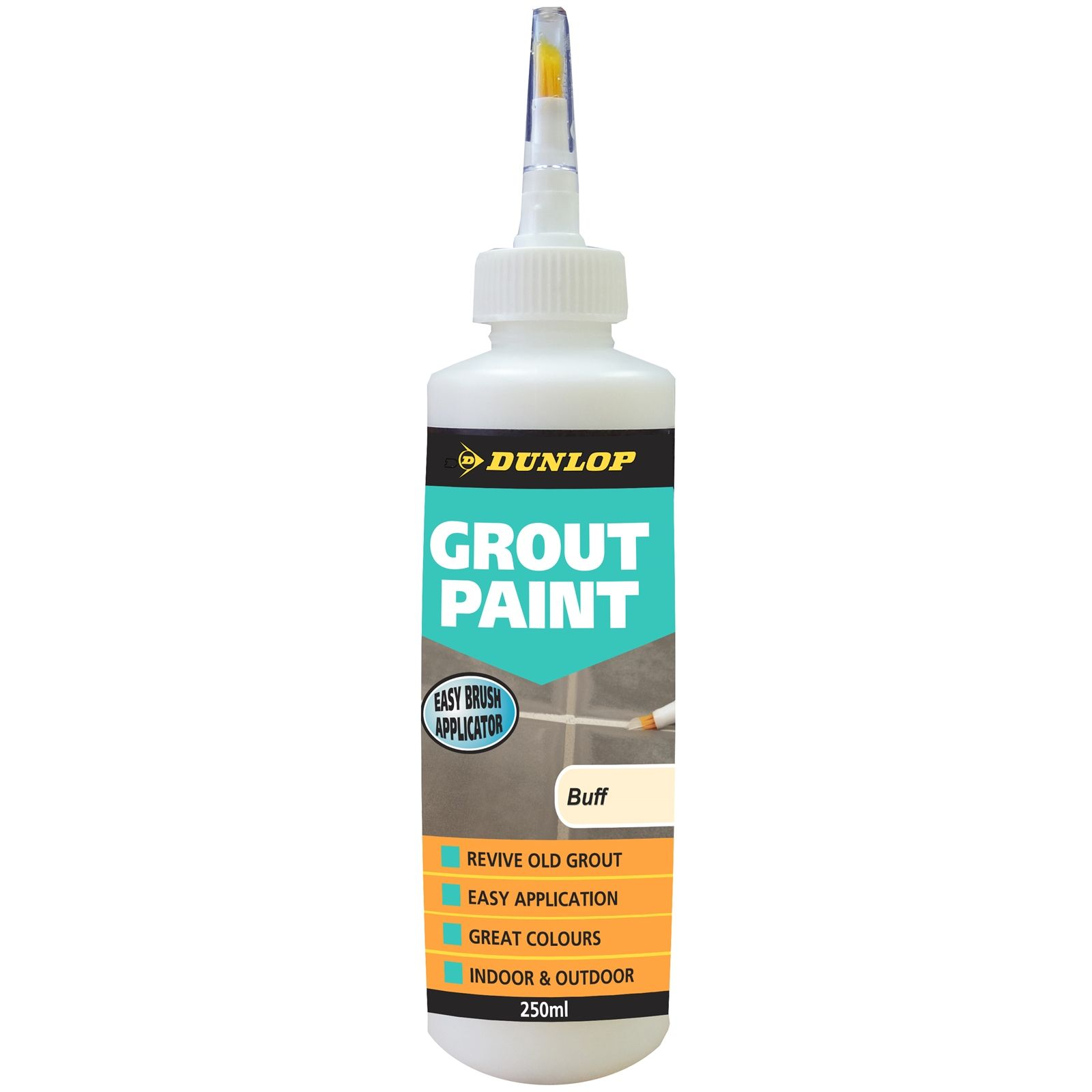 Find Dunlop 250ml Grout Paint Buff At Bunnings Warehouse Visit Your Local Store For The Widest Range Of Paint Decorating Pr Grout Paint Grout Black Grout