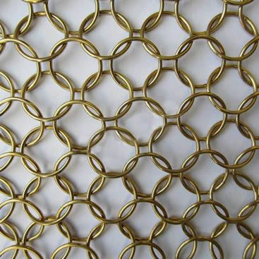 Ring Mesh Is A New And Exciting Material For Creative Architectural Screening And Interior Design Some Of The Metal Screens Facade Metal Screen Screen Design