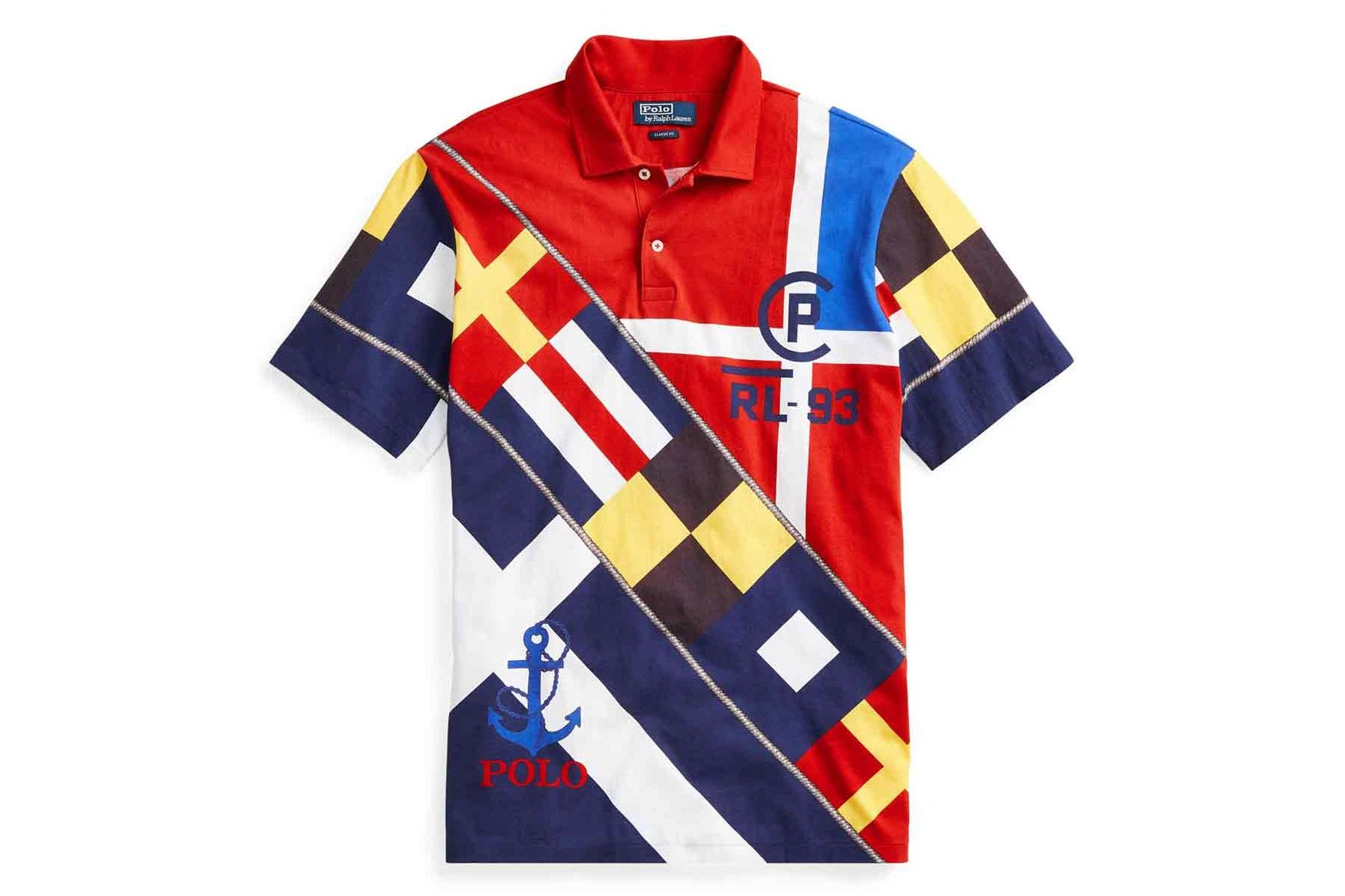 Polo by Ralph Lauren's Limited Edition CP 93 Collection Is Inspired