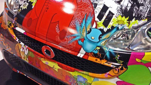 2014 Smart ForTwo Art Car
