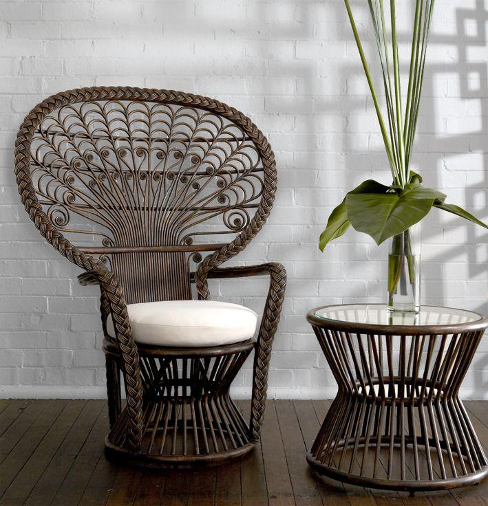 lit corbeille rotin ann es 60 solveig vintage kids sofa rotin bali pinterest mobilier de. Black Bedroom Furniture Sets. Home Design Ideas