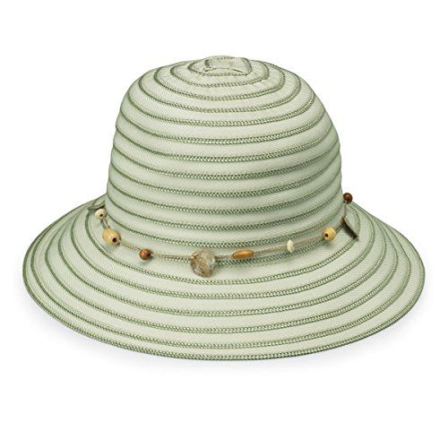 Wallaroo Womens Ellie Sun Hat UPF 50 Packable Seafoam     Want additional  info  Click on the image. a30c298fd025