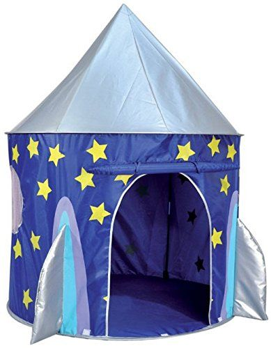 Spirit of Air Kids Kingdom Pop Up Space Rocket Play Tent ...   sc 1 st  Pinterest & Spirit of Air Kids Kingdom Pop Up Space Rocket Play Tent ... https ...
