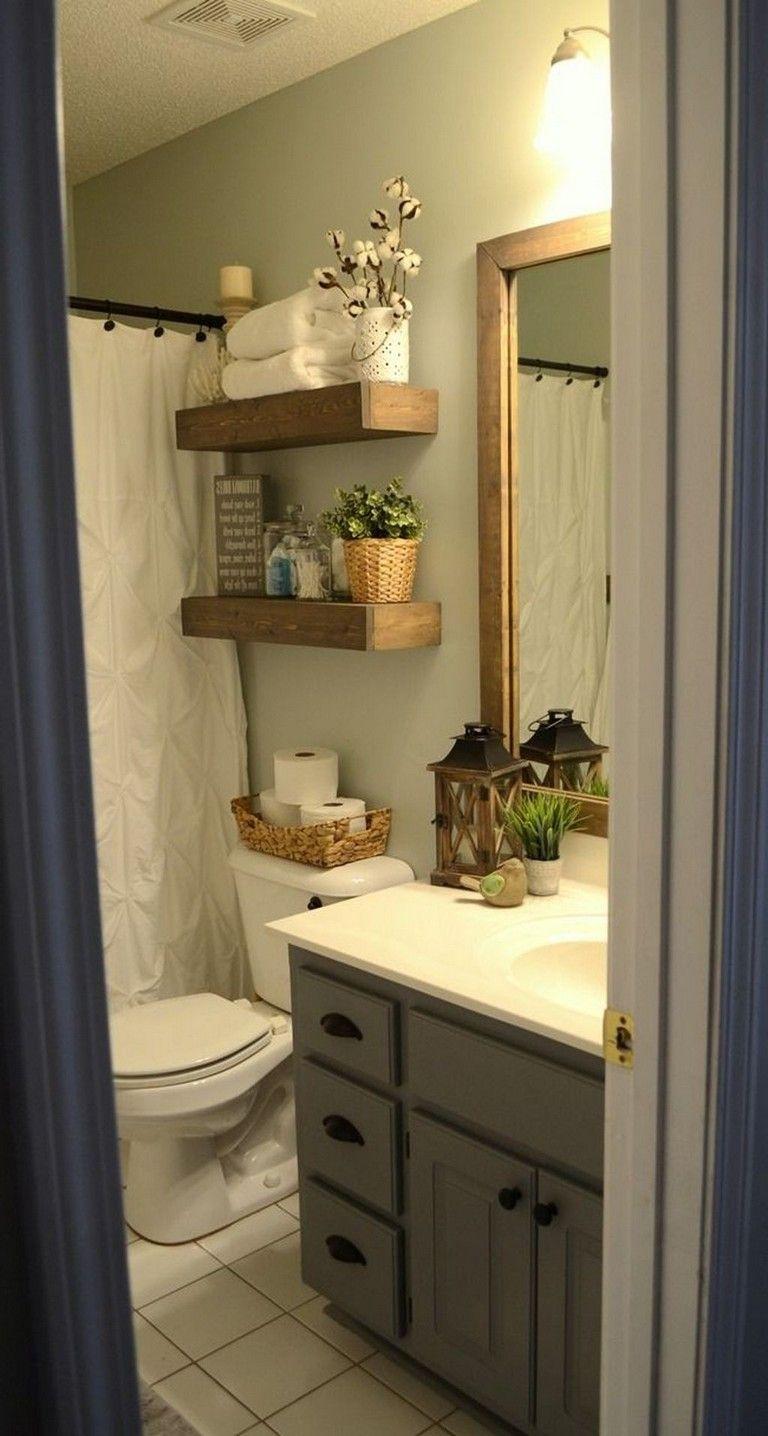 57 awesome farmhouse small bathroom remodel decor ideas on bathroom renovation ideas white id=32934