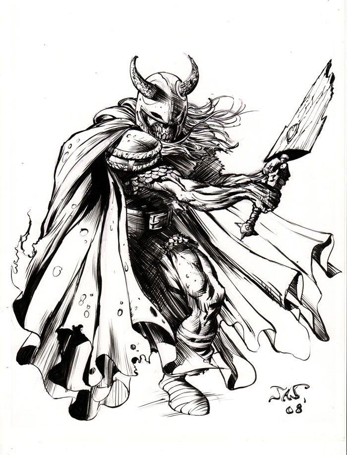 viking skelly by AnibalO.deviantart.com on @deviantART