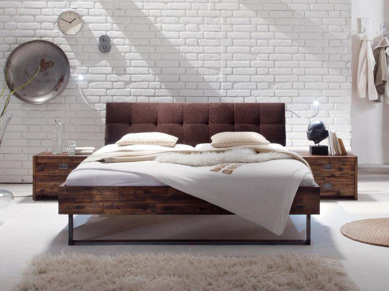 Massivholzbett  Hasena Factory Indus Massivholzbett | Bett | Pinterest ...