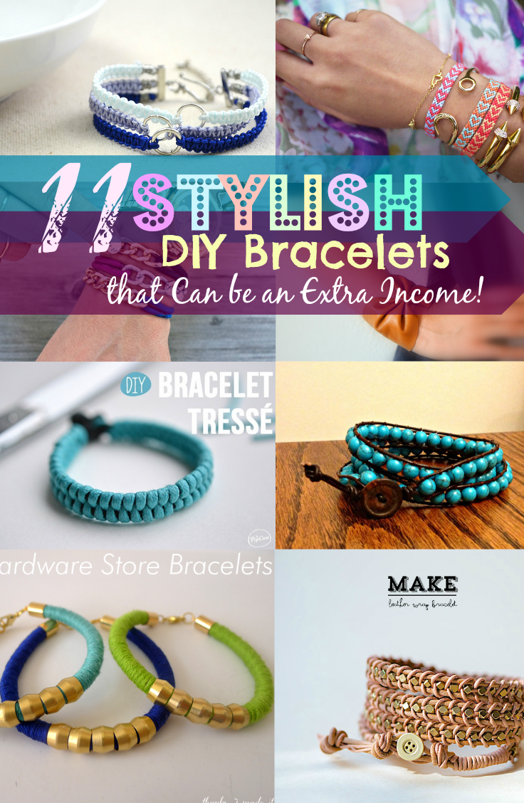Diy bracelets stylish