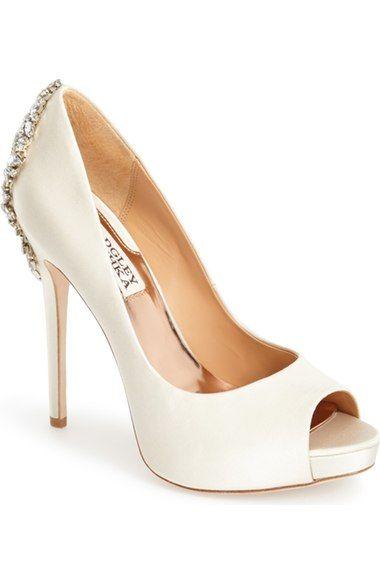 b3d688adcd2c BADGLEY MISCHKA  Kiara  Crystal Back Open Toe Pump (Women).  badgleymischka   shoes  pumps