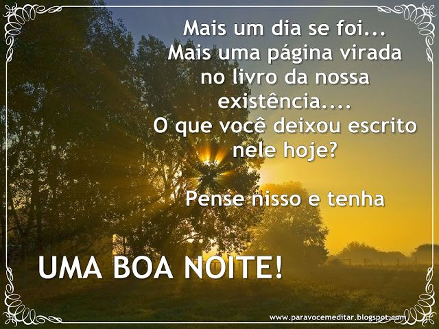 24 Best Images About Boa Noite On Pinterest: Para Meditar: 2012-06-24