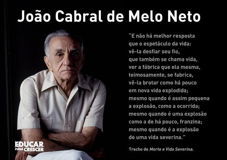 Joao Cabral De Melo Neto Citacoes Sabias Citacoes