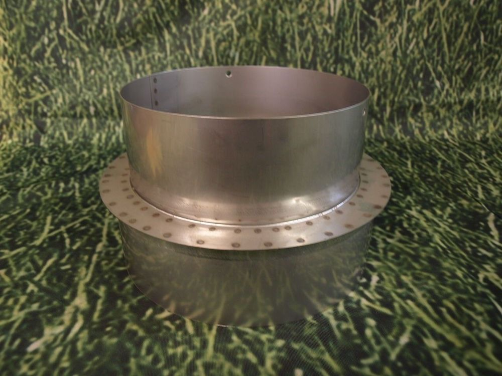 6u0027u0027 to 4u0027u0027 Stainless Steel Stove Pipe Reducer #RelianceMFG & 6u0027u0027 to 4u0027u0027 Stainless Steel Stove Pipe Reducer | Pinterest ...